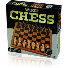 Red Bird Wooden Chess Game