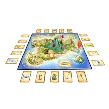 Volcano island countdown game