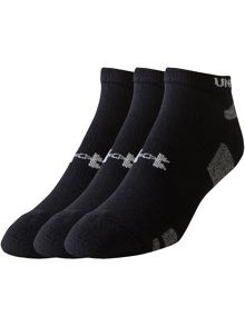 Under Armour Heatgear No Show 3 Pack Socks