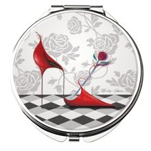 Maranda Ti Limited Red Hot Compact Mirror