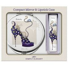 Maranda Ti Limited Dizzy Compact Mirror Lip Case Set