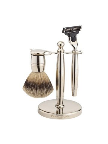 Nickel Shaving Set