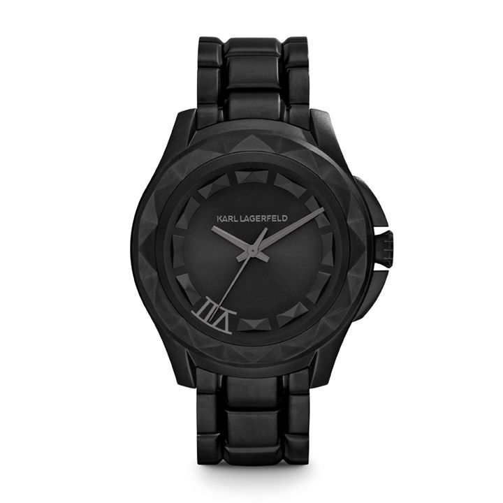Black Bracelet Unisex Watch