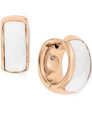 Fossil JF01120791 womens earrings, Rose Gold