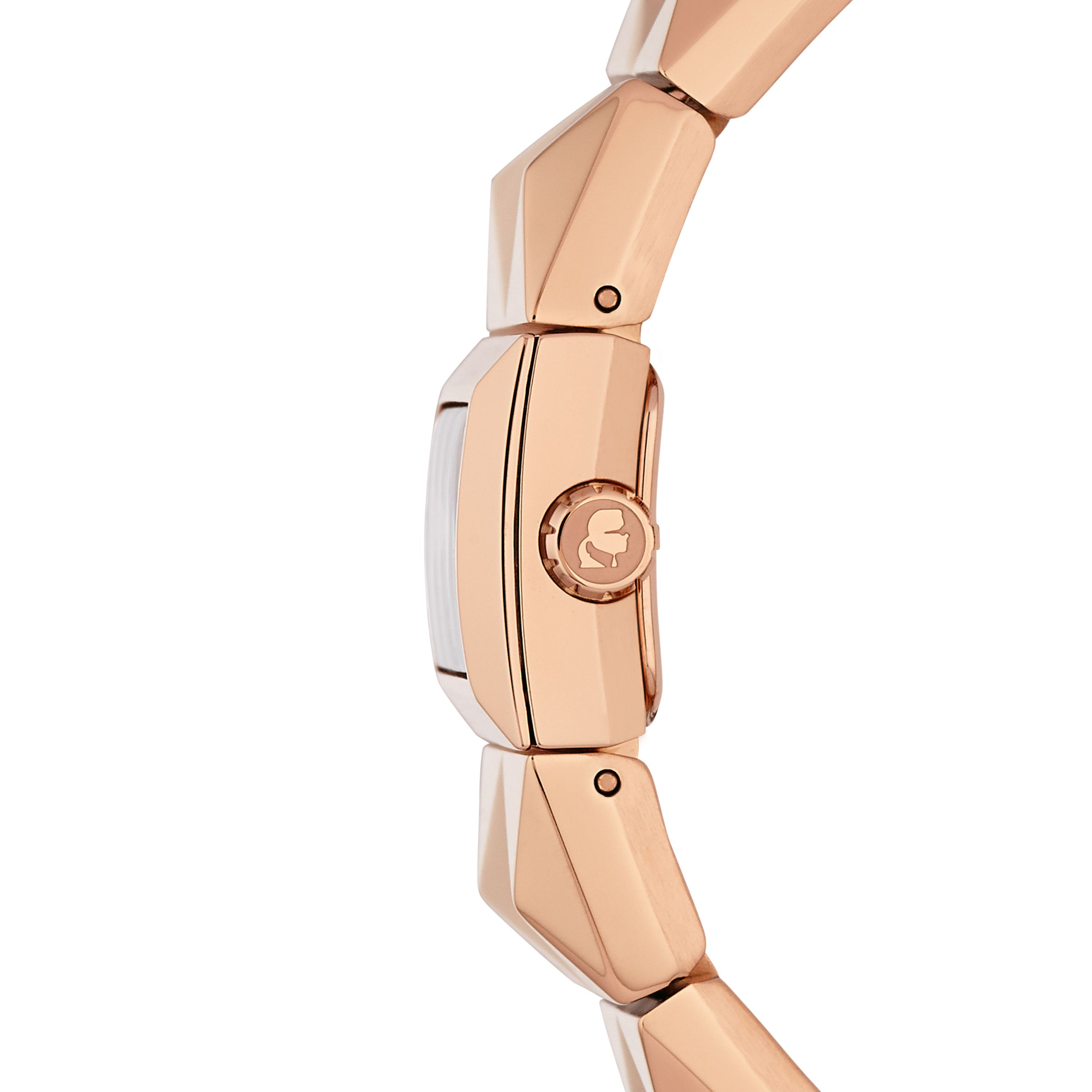 Rose Gold Unisex Bracelet Watch