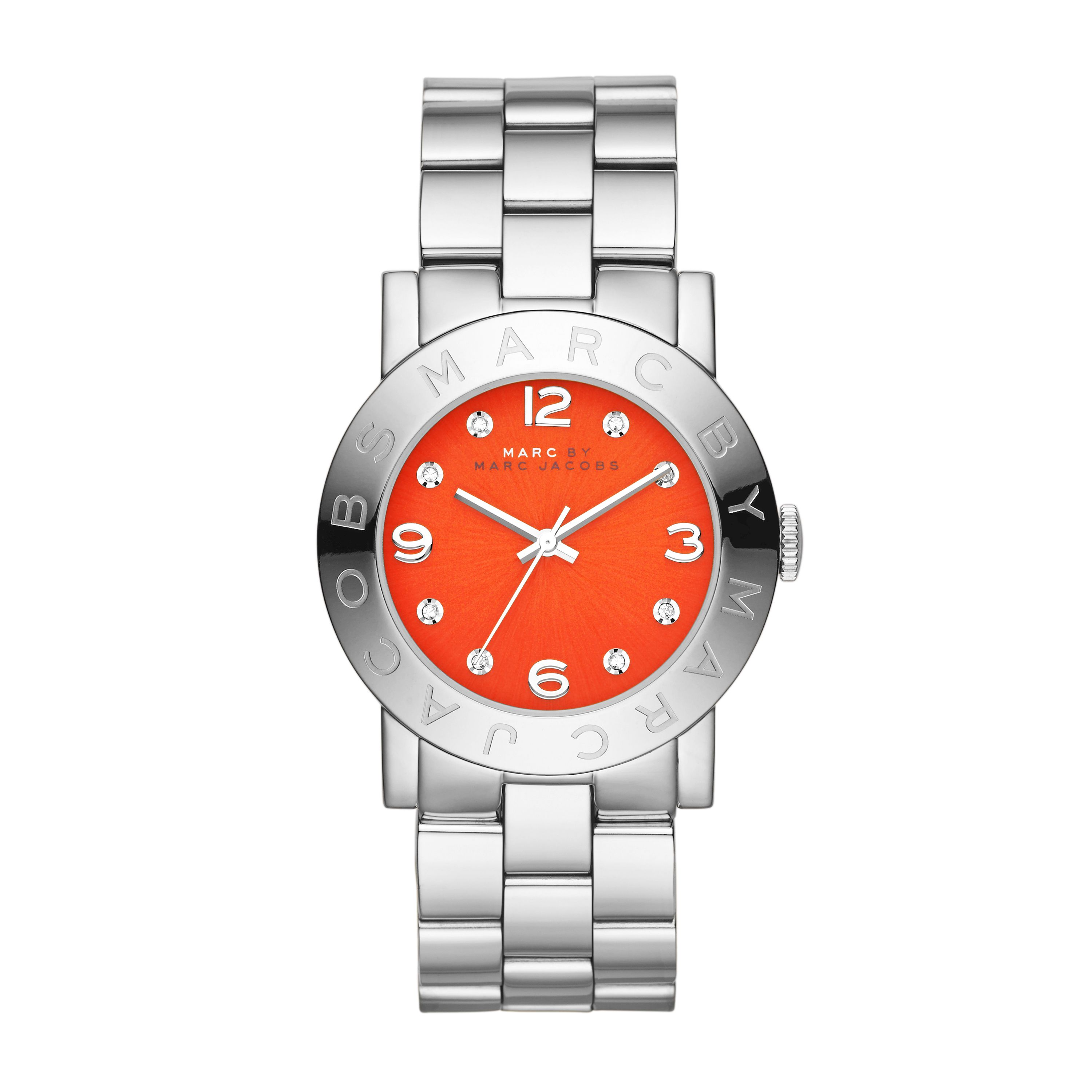 Mbm3302 amy ladies silver bracelet watch