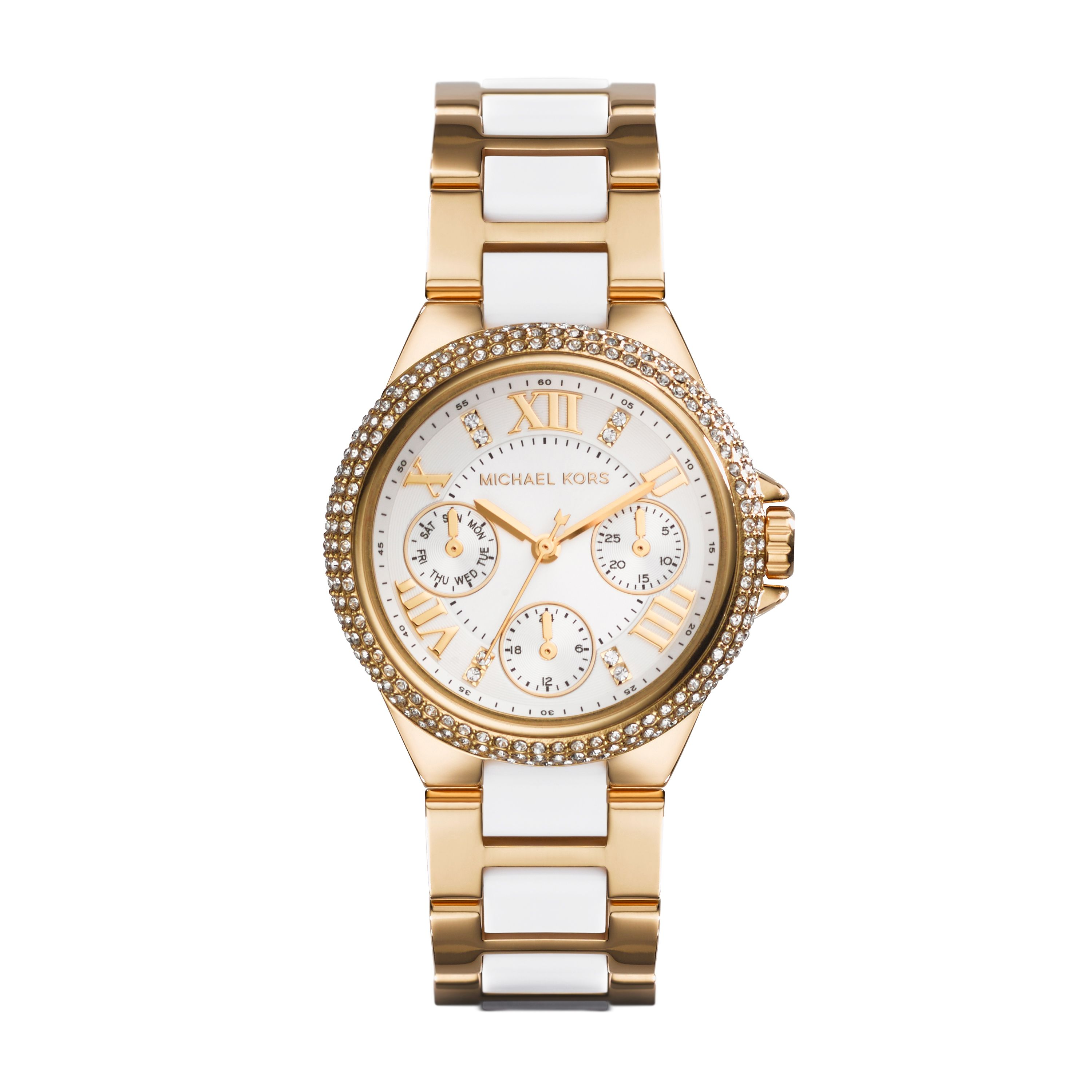 Mk5945 camille ladies chronograph bracelet watch