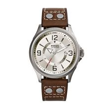 Recruiter Leather Mens Casual Watch