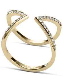Brilliance Crystal Arrow Ring - Ring Size L - S/M