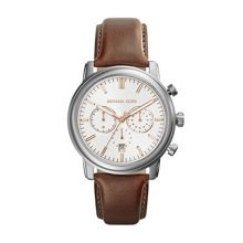Pennant Brown Leather Mens Sport Watch
