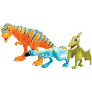 Boris, Oren & Mrs Pteranodon figure pack