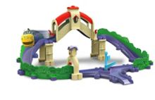 Stack Track Tunnel And Bridge Playset
