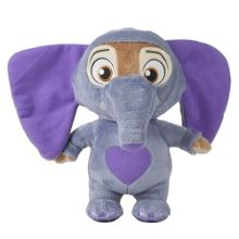 Disney Zootropolis Deluxe Ele-Finnick Talking Soft Toy