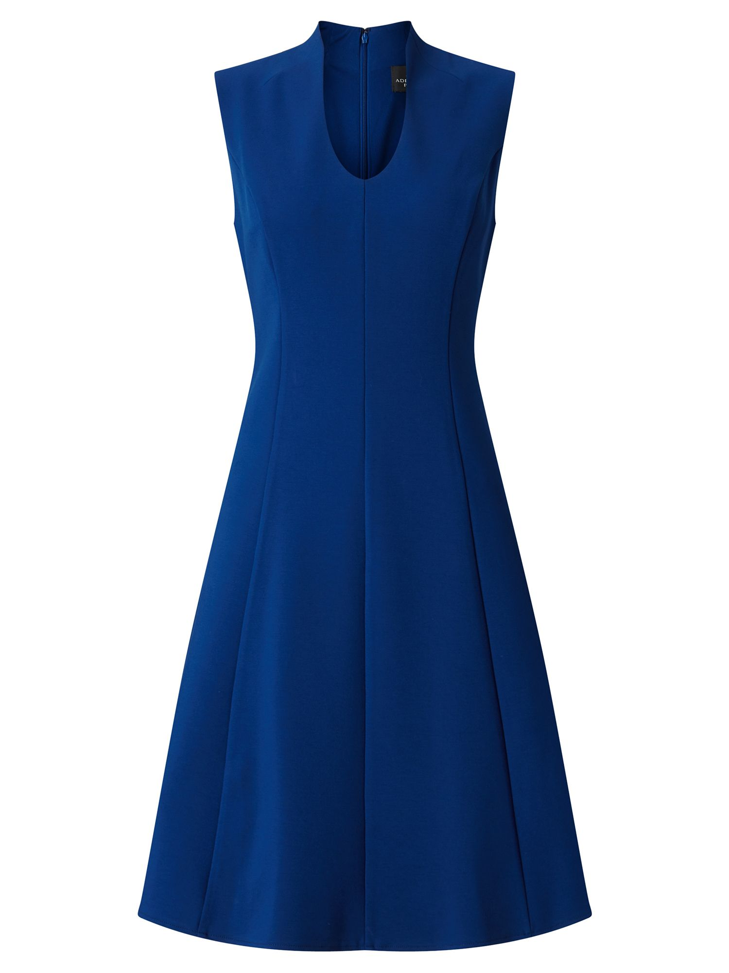 Adrianna Papell Fit And Flare Dress, Blue