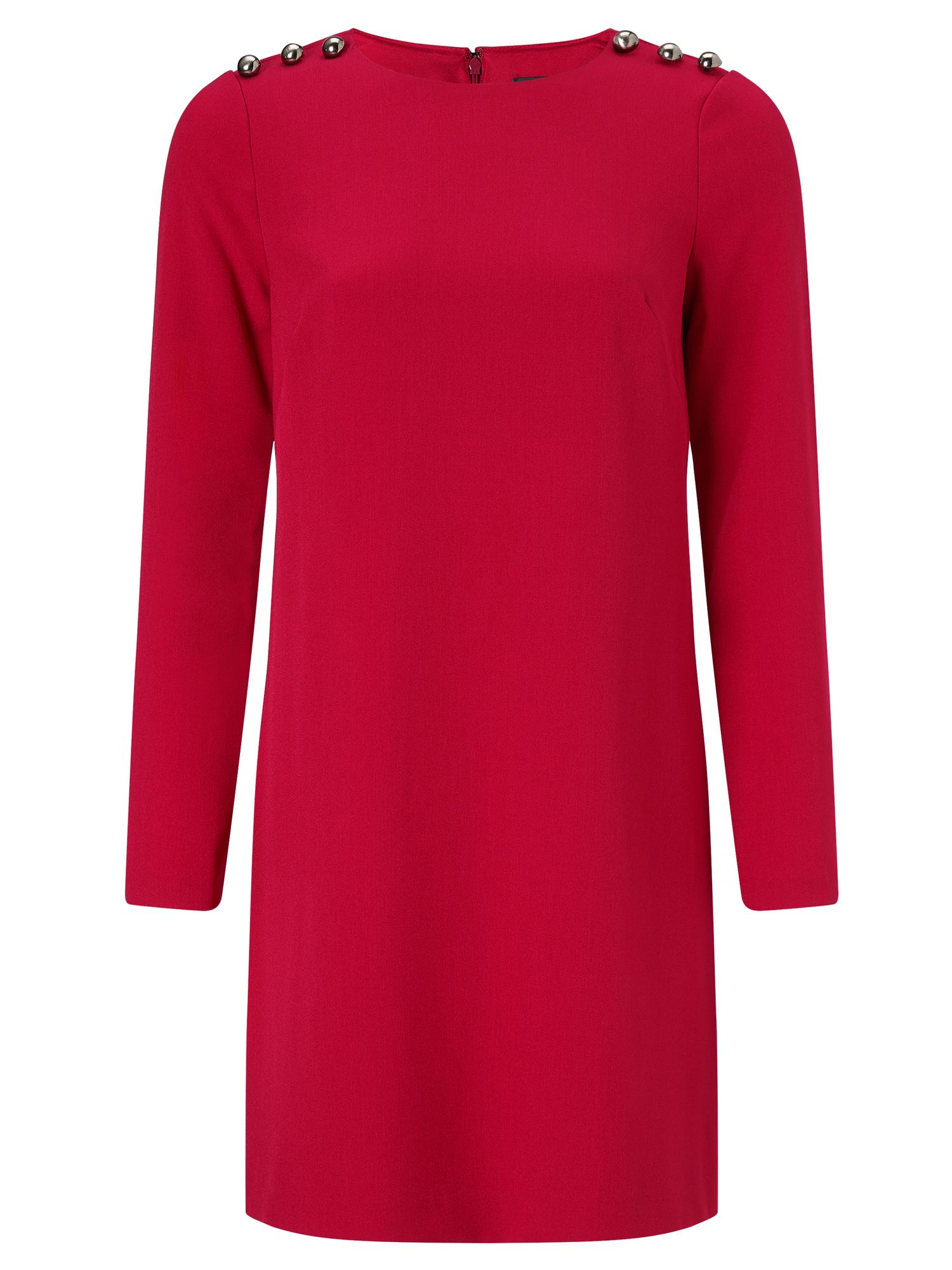 Adrianna Papell Long sleeve short dress, Red