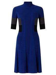 Adrianna Papell Half Sleeve Knit Dress