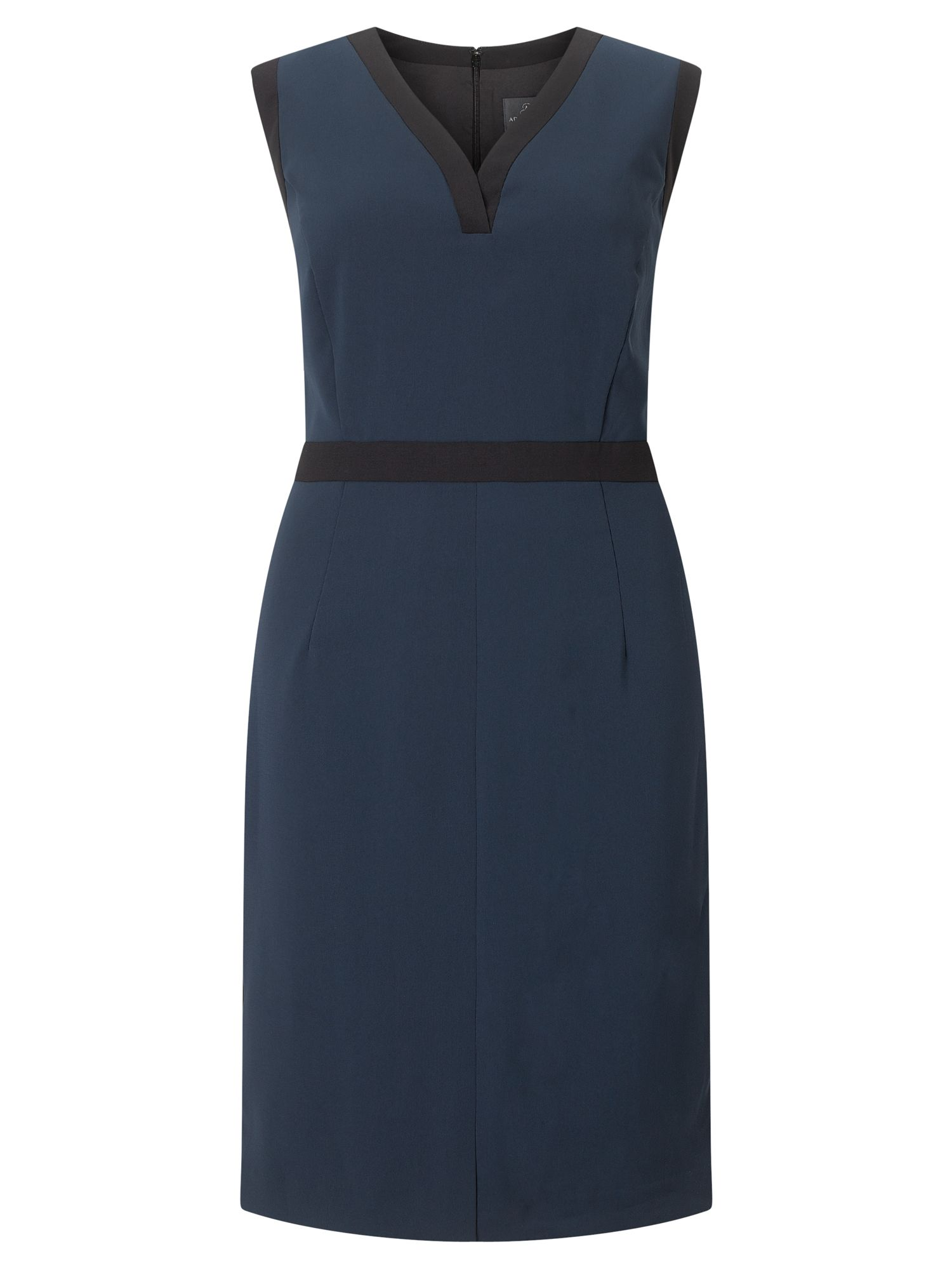 Adrianna Papell Colour block dress, Blue