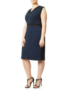 Adrianna Papell Colour block dress