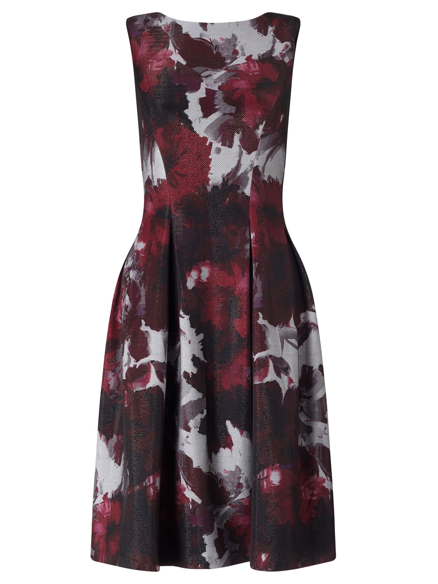 Adrianna Papell Floral dress, Red Multi