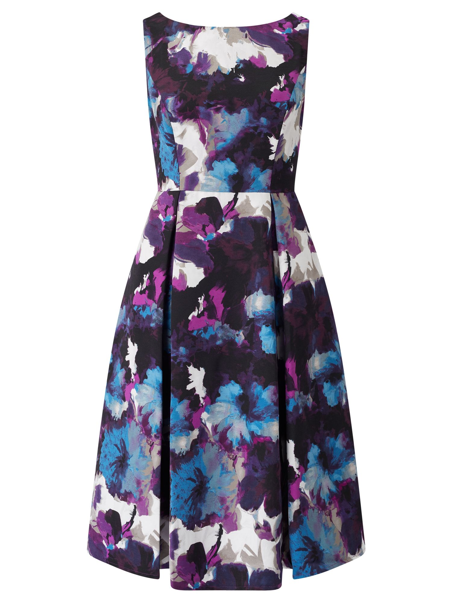 Adrianna Papell Floral prom dress, Purple