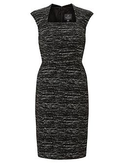 Marl shift dress