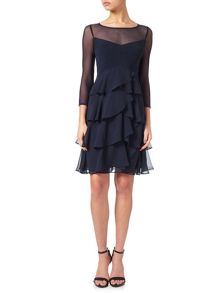 Adrianna Papell Tiered cocktail dress