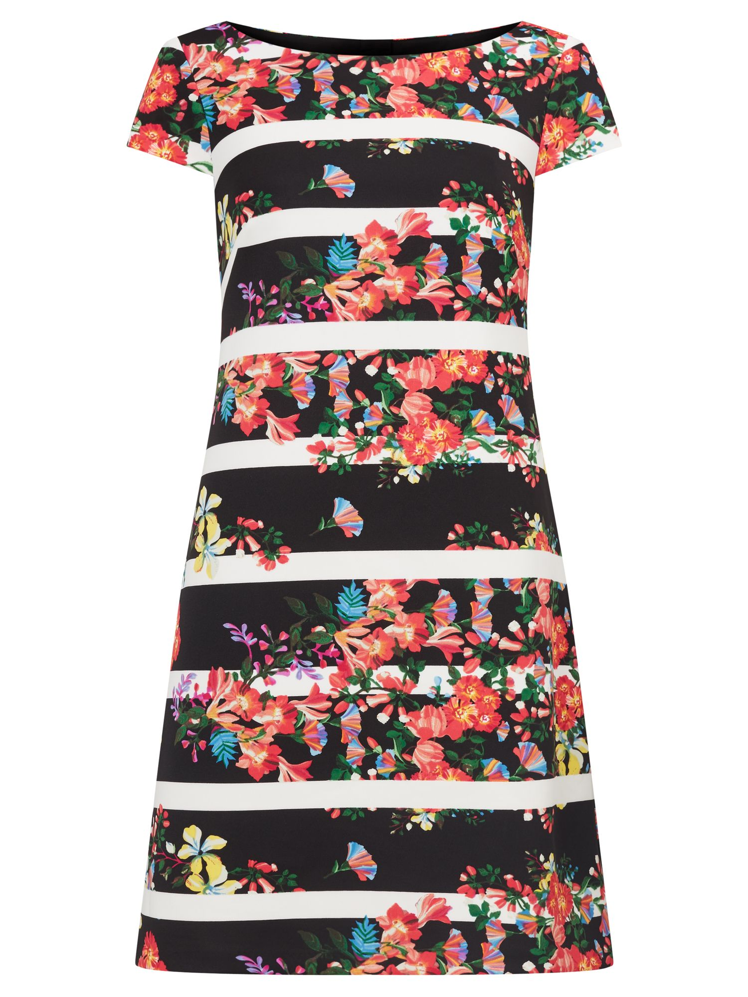 Adrianna Papell Multicolour floral dress, Multi-Coloured