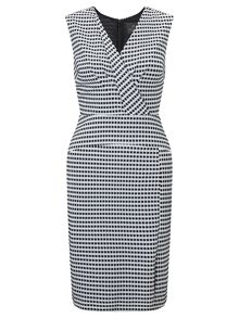 Adrianna Papell Gingham check shift dress