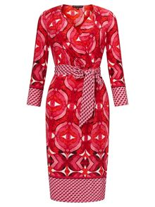Adrianna Papell Graphic print dress