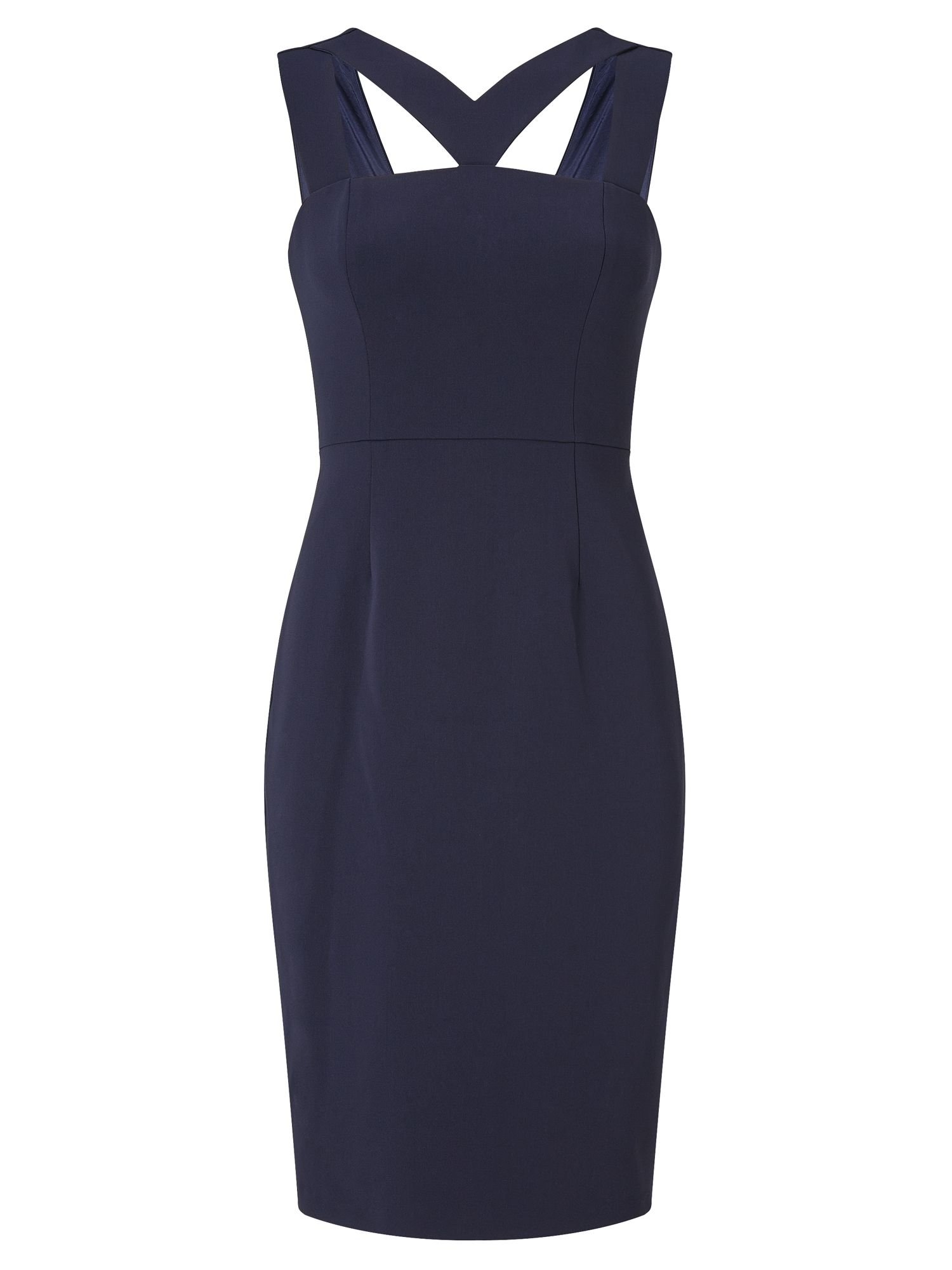 Adrianna Papell Cutout sheath dress, Blue