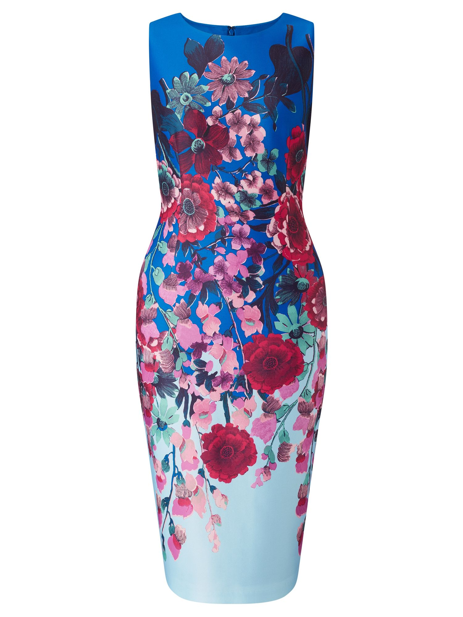 Adrianna Papell Floral scuba dress, Multi-Coloured