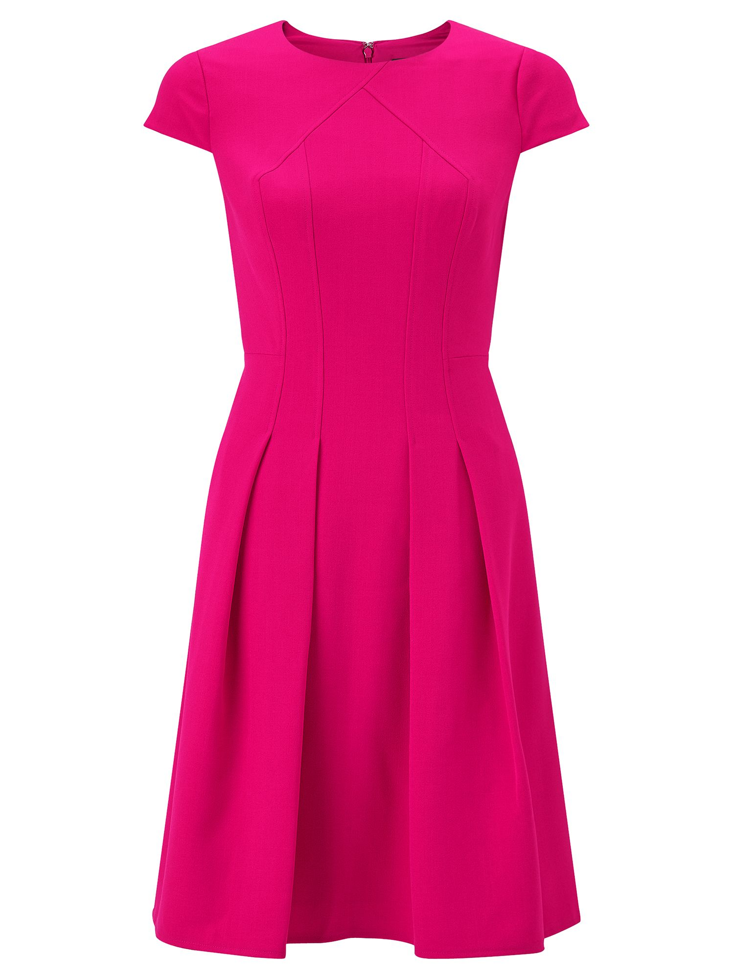Adrianna Papell Fit and flare dress, Pink