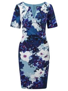 Adrianna Papell Floral sheath dress
