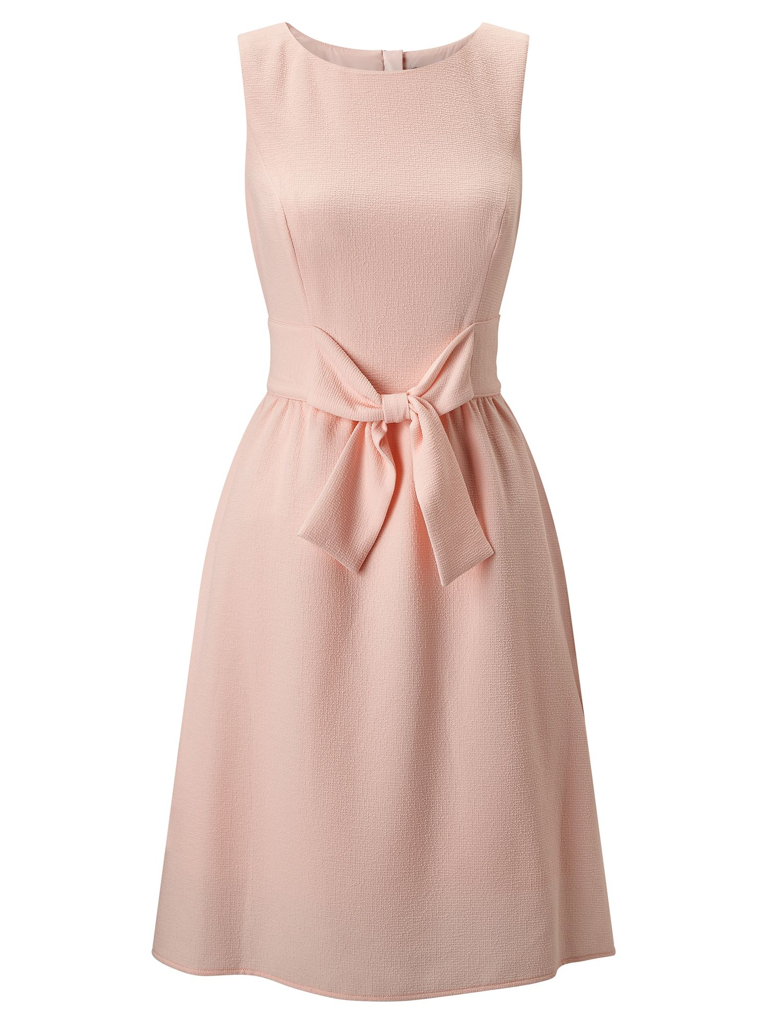 Adrianna Papell Sleeveless bow shift dress, Pink