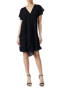 Adrianna Papell Cold ShoulderShift Dress