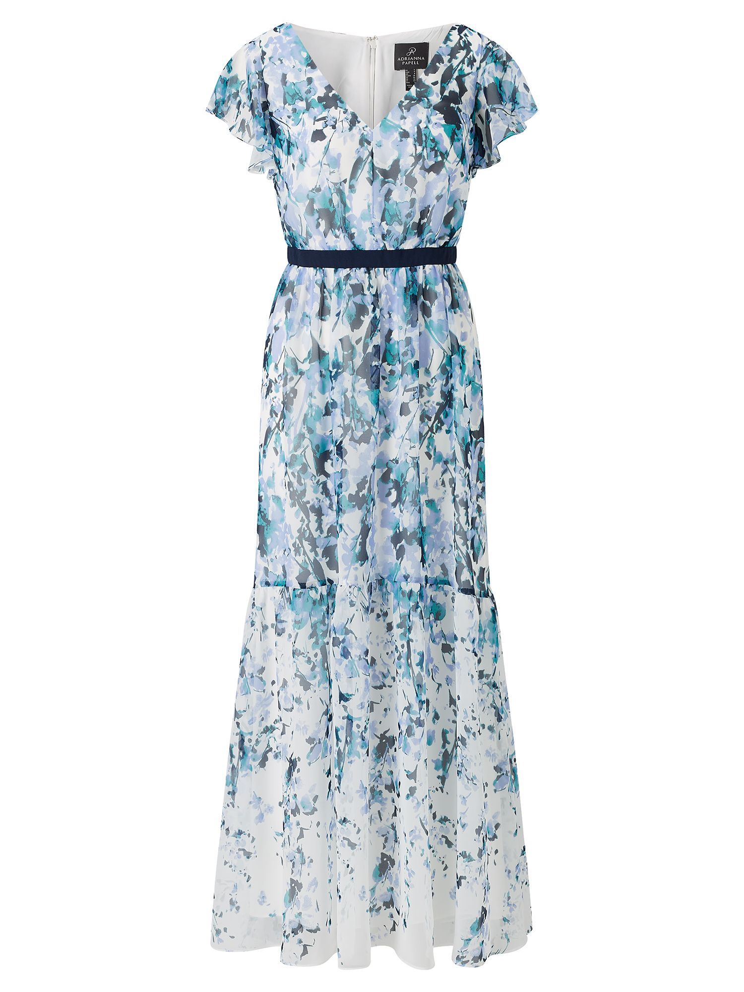 Adrianna Papell Floral maxi dress, Multi-Coloured