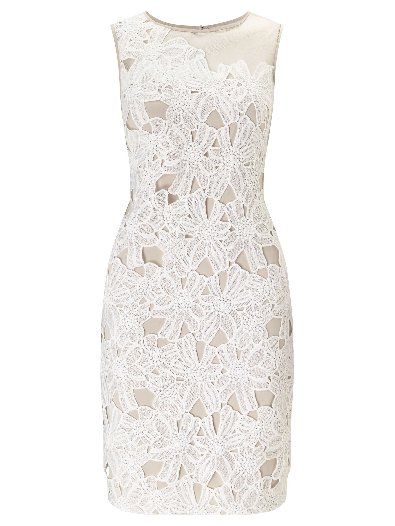 Adrianna Papell Lace dress, White
