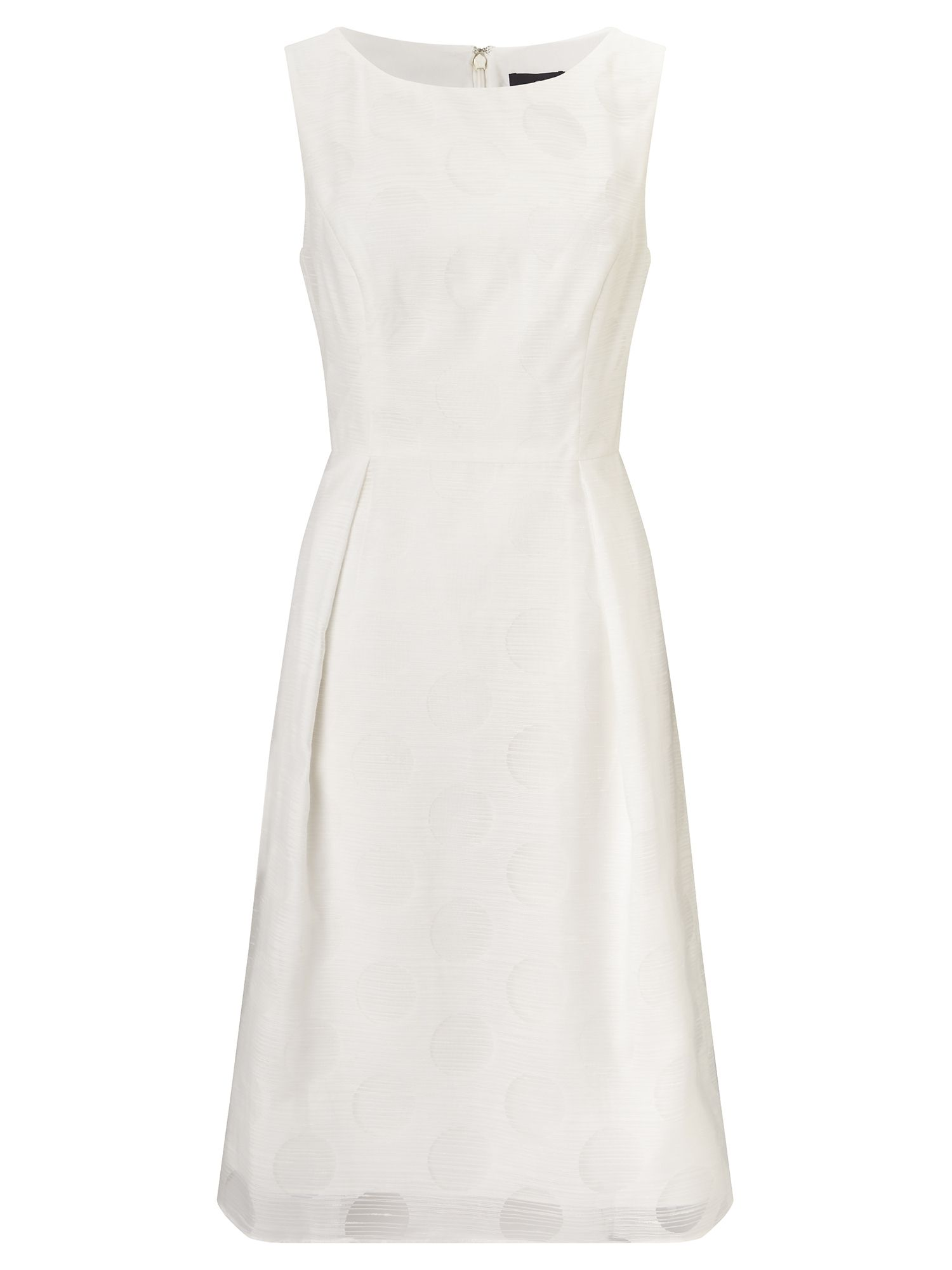 Adrianna Papell Fit and flare dress, White