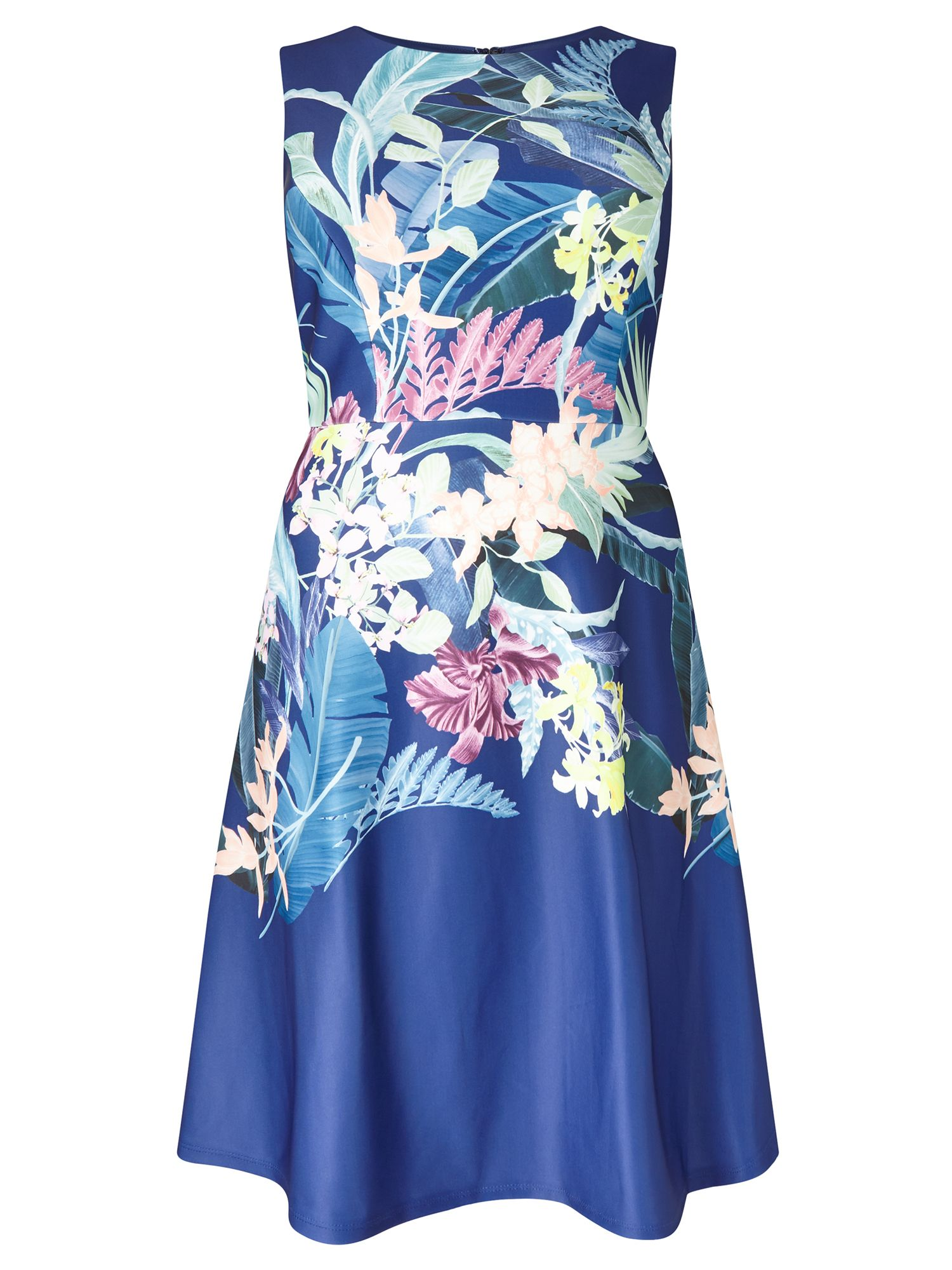Adrianna Papell Floral Dress, Multi-Coloured