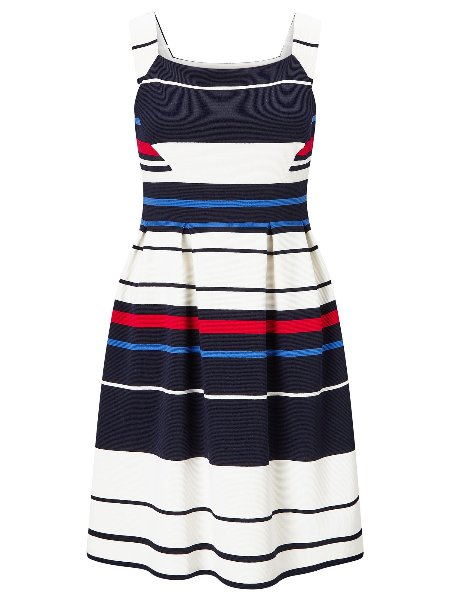 Adrianna Papell Stripe Dress, Multi-Coloured