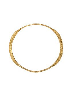Antibes gold bangle