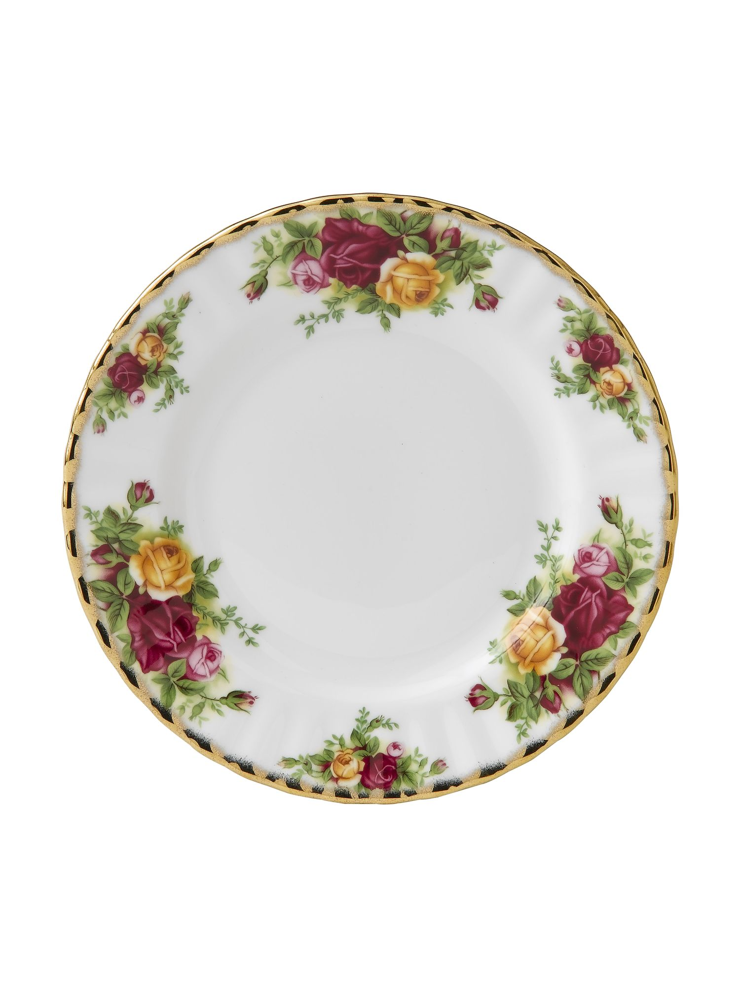 Royal Albert Old country roses 18cm plate.