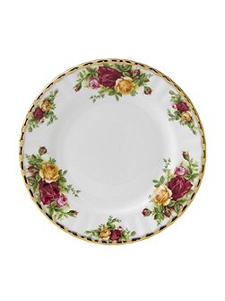 Old country roses 18cm plate