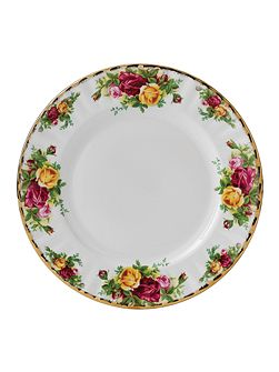 Old country roses 21cm plate