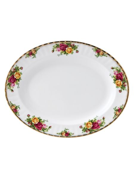 Royal Albert Old country roses small oval dish