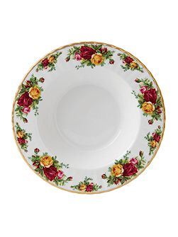Royal Albert Old country roses 24cm rim soup