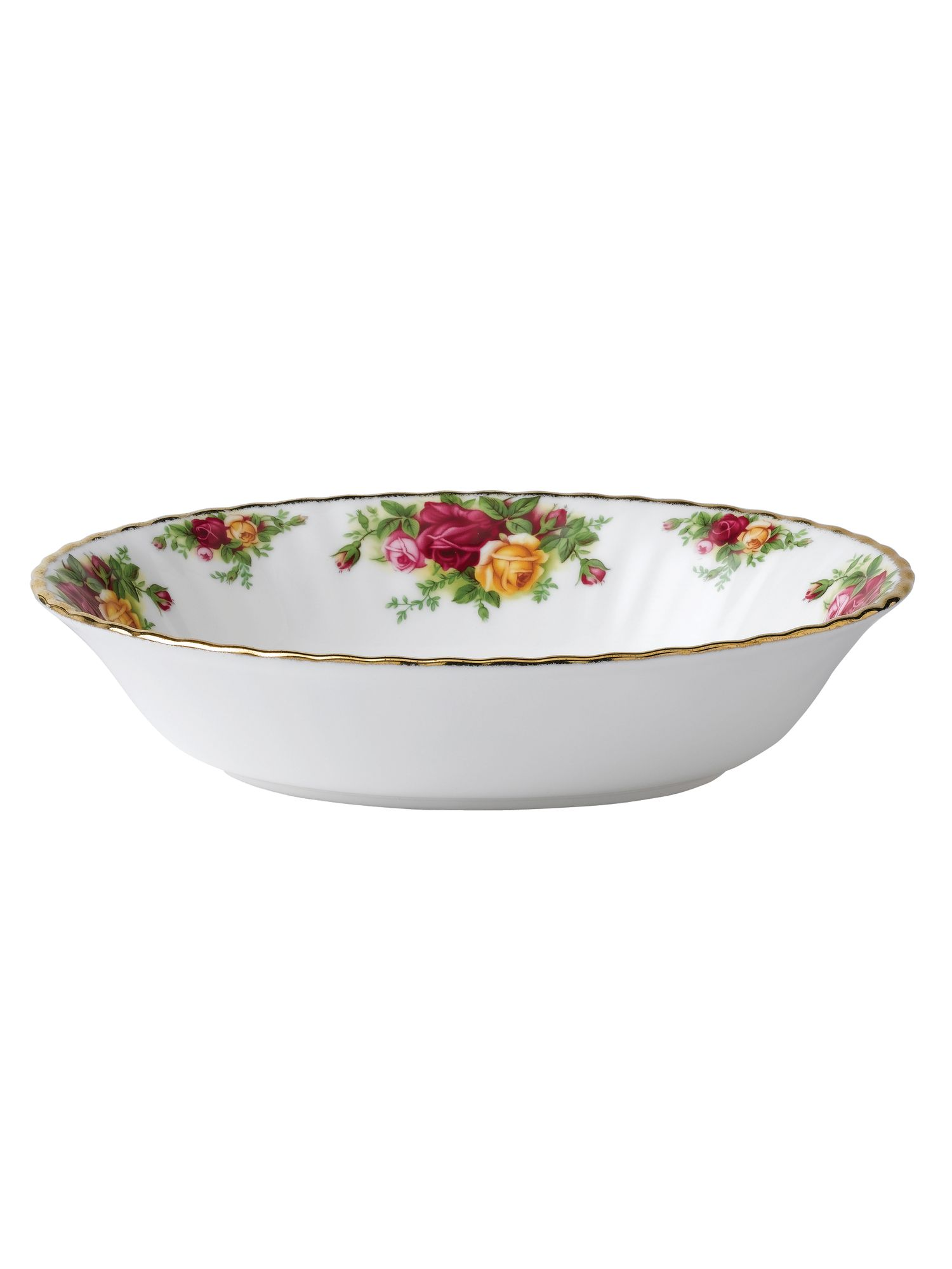 Old country roses 23cm open vegetable dish