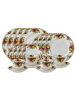 Old country roses 20 piece set