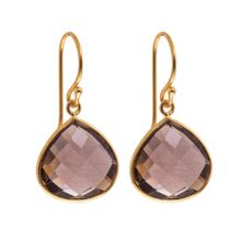 Juvi Designs Gold vermeil egadi drop earrings