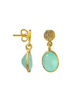 Gold vermeil antibes earrings
